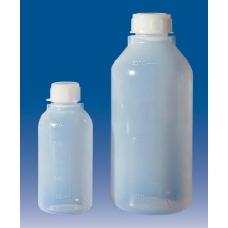 бутылка узкогорлая градуированная 125 мл, п/эт, LAMAPLAST