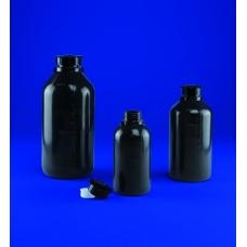 бутылка узкогорлая градуированная 1000 мл, п/эт, цвет серый, Aptaca