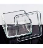 емкость для окраски препаратов 75х65х85мм (под штатив-рамку на 30 стекл)