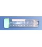 пробирка полипропиленовая 50мл коническая с делением, стерильная с винтовой крышкой и юбкой устойчивости (50шт упаковка) Гритмед
